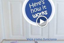 Vídeos de Produtos / Veja em tempo real a funcionalidade de produtos revolucionários para seu bebê.