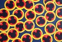 Tags / Aqui você vai encontrar diversos modelos de tags em vários temas para decorar a sua festinha.