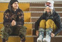 Ski/ snowboarders