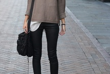 Outfits | Fall & Winter / Cozy, warm and stylish fall & winter outfit ideas.