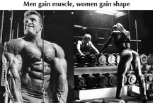 Training heavy for man