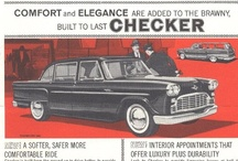 Checker Car Ads / Checker Motors Corporation was a Kalamazoo, Michigan based vehicle manufacturer and tier-one subcontractor that manufactured taxicabs used by Checker Taxi. Checker Motors Corporation was established by Morris Markin in 1922 through a merger of 'Commonwealth Motors' and 'Markin Automobile Body'.