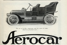 Aerocar Automobile Ads / The Aerocar was an American automobile built from 1905 to 1908 in Detroit, Michigan. Backed by Henry Ford's former partner, coal merchant Alexander Malcomson, the short-lived company offered an air-cooled 24 hp (18 kW) four-cylinder luxury car which sold for $2800.