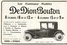 DeDion Bouton Automobile Ads / De Dion-Bouton was a French automobile manufacturer and railcar manufacturer operating from 1883 to 1932. The company was founded by the Marquis Jules-Albert de Dion, Georges Bouton, and Bouton's brother-in-law Charles Trépardoux.