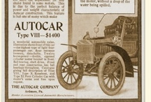 Autocar Ads / The Autocar Company was a manufacturer of Brass Era automobiles in Ardmore, Pennsylvania. It was first founded as the Pittsburgh Motor Vehicle Company but became the Autocar Company in 1899. By 1907, the company had decided to concentrate on commercial vehicles, and the Autocar brand is still in use for commercial trucks.