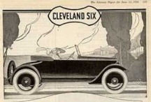 "Cleveland Automobile Ads / By March 1906, the company advertised in a national trade magazine as ""the car without a weak spot."" Their 4-cylinder, 30 to 35-horsepower Model F was priced from $3,500 to $5,000, ""depending on body equipment."" The complete chassis was made by the Garford Motor Truck Co., the largest manufacturers of high-grade automobile parts and chassis in America."