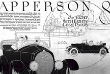 Apperson Car Ads / The Apperson was a brand of American automobile manufactured from 1902 to 1926 in Kokomo, Indiana. The company was founded by the brothers Edgar and Elmer Apperson shortly after they left Haynes-Apperson. By 1904, Apperson offered vertical fours in two models. The 1904 Apperson Touring Car was a touring car model. Equipped with a tonneau, it could seat 6 passengers and sold for US$6000.