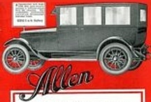 Allen Motor Co. Car Ads / The Allen was an American automobile, built at Fostoria, Ohio between 1913 and 1921. The company used 3.1 litre side valve Sommers four-cylinder engines, and acquired that company in 1915. The 1920 Allen 43 was a handsome craft, featuring bevel-sided touring coachwork and a high-shouldered radiator. Unfortunately, sales of this vehicle were not enough to avert the company's bankruptcy, which followed in 1921. Willys acquired what little was left Overall, 20,000 vehicles were sold.