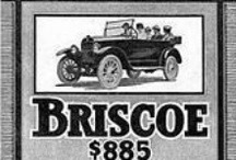 Briscoe Car Ads / A few months after his departure from the United States Motor Company in 1913, Benjamin Briscoe established a manufacturing plant at Billancourt, France to design and manufacture the first automobile in France built by American methods. The business was called Briscoe Freres; Billancourt was the home of Renault.