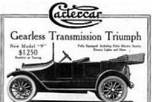 Cartercar Automobile Car Ads / Cartercar was an American automobile manufactured in 1905 in Jackson, Michigan, in 1906 in Detroit, and from 1907 to 1915 in Pontiac, Michigan.