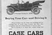 Case Car Ads / Jerome Increase Case (1819–1891) was born to a Williamstown, New York farming family. As a young child, Case read about a machine that could cut wheat without people needing to use their hands. Automobiles produced by Case during the period 1911-1925/1926 include: the Case Jay-Eye-See Brougham (named for Case's horse) and Case Touring-Y.