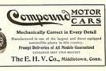 Compound Car Ads / Eisenhuth Horseless Vehicle (EHV) Company was a manufacturer of Brass Age automobiles. Originally based in New York City, in 1902 the company purchased The Keating Wheel and Automobile Company and established manufacturing operations in Middletown, Connecticut.
