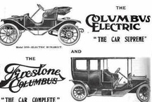 Columbus Buggy Co. Car Ads / Like some other companies, the Columbus Buggy Company's management decided to begin producing automobiles in the early 20th Century. The company built several different lines, using both electric and gas power. Unfortunately, these changes were not enough for the company to survive. The Columbus Buggy Company went bankrupt in 1913.