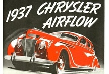 Airflow Automobile Ads / The Chrysler Airflow is an automobile produced by the Chrysler Corporation from 1934 to 1937. The Airflow was one of the first full-size American production car to use streamlining as a basis for building a sleeker automobile, one less susceptible to air resistance. Chrysler made a significant effort at a fundamental change in automotive design with the Chrysler Airflow, but it was ultimately a huge commercial failure.