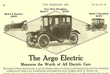 Argo Electric Car Ads / The Argo was a short-lived United States automobile manufactured by the Argo Motor Co in Jackson, Michigan, between 1914 and 1918. The factory had been previously used by the Standard Electric Car Co to build an electric car.