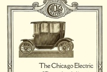 Chicago Electric Car Ads /  Chicago 1912-1914 Chicago Electric Motor Co.