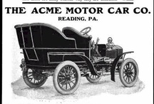 Acme Motor Car Ads / The company was founded in 1892 by James C. Reber to produce bicycles. The Acme was preceded by the Reber, which was manufactured in 1902–03 and was powered by a vertical-twin engine. The first Acme automobiles also had twin-cylinder engines but were soon followed by four-cylinder models and in 1909 by a six-cylinder. The 1909 9653 cc Vanderbilt Six featured overdrive fourth gear.