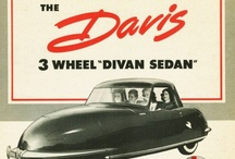 "Davis Motorcar Co. 3-Wheel Car Ads / The Davis Motorcar Company was an American automobile manufacturer based in Van Nuys, in the San Fernando Valley region of Los Angeles, California, which produced three-wheeled automobiles from 1947 to 1948. In total the company produced 15 to 17 vehicles. Founded by Glenn Gordon ""Gary"" Davis (d. 1973) acquired a prototype called ""The Californian"" from designer Frank Kurtis, who built it for millionaire racecar driver Joel Thorne."