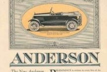 Anderson Car Ads / The Anderson is considered the most successful automobile ever built in the U.S. South, manufactured by a carriage works from 1916 to 1925 in Rock Hill, South Carolina. Started by John Gary Anderson, the company sold cars through a national dealer network. The company used Continental 7R flat six engines in its vehicles, which were noted for their attractive body styles and color combinations. Andersons were the first cars to be built with headlight foot dimmer.