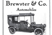 Brewster Ads / Brewster & Company was an American coachbuilder, active from 1810-1937. Their first known bodywork on an automobile was in 1896, on an electric car, and a gasoline powered car in 1905, on a Delaunay-Belleville chassis. Eventually they would use chassis from a variety of makers. From 1915-1925 and 1934-1935 they produced their own line of opulent and expensive automobiles at their plant in Long Island City.