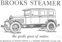 Brooks Steamer Ads / Brooks Steam Motors, Ltd. was a Canadian manufacturer of steam cars established in March 1923. Its cars more closely resembled the Stanley Steamers in terms of engineering rather than the more sophisticated Doble steam cars. The company was formed from the defunct Detroit Steam Motors Corporation.