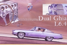 Dual-Ghia Car Ads / Dual-Ghia is a rare, short-lived, automobile make, produced in the United States between 1956 and 1958. The idea for Dual-Ghia came from Eugene Casaroll, who formed Dual Motors in Detroit, Michigan to build an exclusive car at a moderate price.