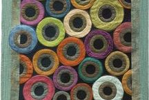 quilts: circles & spirals / Inspiration for circles in quilts and textile art