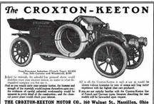 Croxton-Keeton Motor Co. Car Ads / The Croxton-Keeton Motor Co. Massillon, Ohio