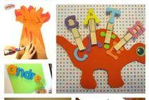 Fun with Alphabet/ Literacy / Untuk berbagi ide dan kreasi seru lainnya yuk kunjungi www.galeriakal.com Mam!