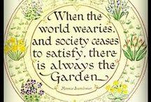 *garden: wisdom & poetry / zitate & weisheiten zum thema natur & garten