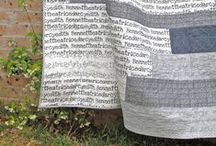 quilts & stitches / quilts or details I love /// many inspirations...
