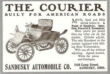 Courier Car Co. Ads / The Courier Car Co. was an automobile manufacturer formed in 1909 by the Stoddard-Dayton Company in Dayton, Ohio, to produce smaller, lighter and lower-priced models than the luxury automobiles produced by Stoddard Dayton.