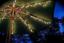 *garden: at night / schönes licht - nachts im garten