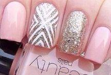Nail art and hair <3<3