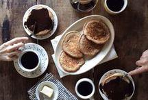 Coffee   Le petit dejeuner / A coffee & breakfast culture appreciation board.