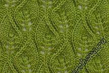 knitting stitch patterns / strickmuster / knitting:  patterns & tutorials