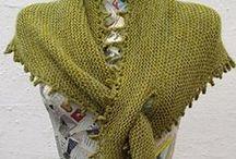 knitting: scarfs, cowls, shrugs, capelets / Gestrickte Schals, Loops, Tücher und Capes