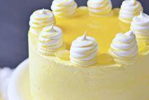 Lemon Cake / Lemon cakes