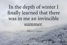 Life begins in winter / (not in spring, and yes, I'm sure )