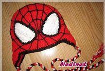 crochet spiderman