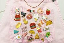 Pin Game / Pin and Brooches galore, for all ages. Get inspired! xM