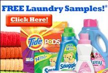 I Want Free Laundry and Cleaning Samples / Love to try new laundry products? We sure do!  There are often samples of Laundry soap, cleaning products and even high value coupons for money off of these products that you could be missing! Visit this board or FreeSamples.us for all the latest freebies!