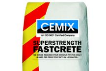 A Concrete Collection / A collection of the top Cemix products, perfect for DIY jobs around home