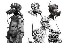 Character Concepts / Inspiring character concepts and designs