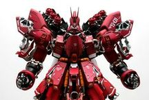 Kit Bash / 40k, Gundams, Armored Cores, Zoids, scratch builds, you name it. Any shape, any scale