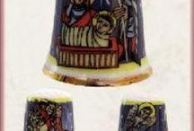 Colecciones de dedales / Todo para los coleccionistas de dedales. Vitrinas para exposición
