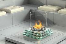 Inspiration   Ideas / Stylish and modern Fireplaces we like.