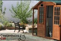 Castanheiro Cat Lodges / Castanheiro Cat Lodges is a cat only boarding facility in Águas de Moura, Portugal.        New Service - we now board rabbits and other small furries. https://www.facebook.com/CastanheiroCatLodges