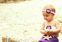 Adorable Baby Mermaid