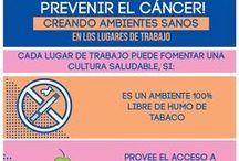 Infografías / Tablero utilizado para la promoción de la alimentación saludable y actividad física, resaltando datos sobre nutrición, salud y seguridad alimentaria y nutricional.